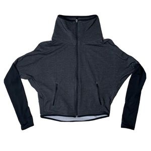 NIKE Dri-Fit Therma Full Zip Crop Dolman Jacket